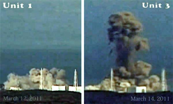 explosionen außer kontrolle